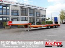 Semi remorque ES-GE Es-ge 3-Achs-Satteltieflader mit Radmulden porte engins occasion