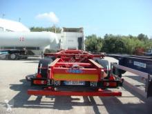 Semi remorque porte containers Asca CHARIOT ELECTRIQUE COULISSANT 1*45 1*40 2*20 PIEDS 2007