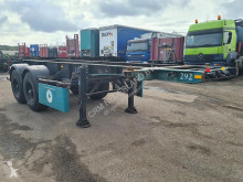 Van Hool container semi-trailer S-201 Container chassis 20ft.