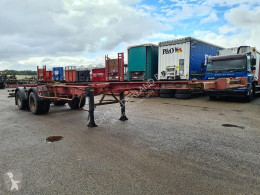 Sættevogn Fruehauf ED 32 PC Container chassis 40ft. / 30ft. / 20ft. Steel suspension containervogn brugt