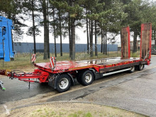 Nooteboom 50 Tons DIEPLADER - 4 ASSER - HYDR. RAMPEN - BLADVERING - VERBREDERS (3m) - BELGISCHE PAPIEREN / 4 ESS - RAMPES - SUSP. LAMES - trailer used heavy equipment transport