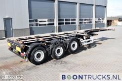 Sættevogn Pacton T3-010 | 2x20-30-40-45ft HC * SAF/DISC * APK 11-2022! containervogn brugt