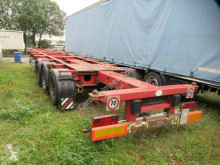 """Semi remorque châssis Krone Container Chassis 20,40,45"""", Lift, SAF Scheibe"""