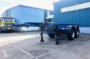 Návěs Van Hool S 223 FULL STEEL 20FT CONTAINER TRAILER (FULL STEEL SUSPENSION) nosič kontejnerů použitý