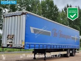 Krone SZ City-Trailer Lift+Lenkachse Ladebordwand (LBW) semi-trailer used tautliner