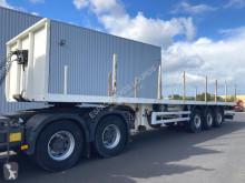 Lecitrailer 3E20SD 3 ESSIEUX semi-trailer used flatbed