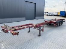 Návěs nosič kontejnerů Broshuis 45FT HC multi, SAF+Disc, 2x liftaxle, 2x extendable, NL-trailer