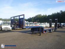 Yarı römork Kässbohrer Semi-lowbed trailer 9.2 m / 51 t + ramps + winch Treyler ikinci el araç