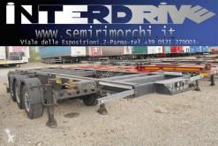 Semitrailer containertransport Merker semirimorchio portacontainer 20 pieidi e tank