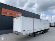 Van Hool box semi-trailer damaged roof, full chassis, galvanized, BPW+drum, NL-trailer, APK: 12/2021