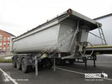 Semi remorque benne Schmitz Cargobull Tipper Steel half pipe body