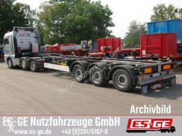 Semi remorque châssis Kögel 3-Achs-Containerchassis multifunktionell