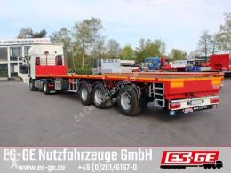 Semi remorque ES-GE Es-ge 3-Achs-Sattelauflieger - teleskopierbar plateau occasion