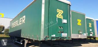 Yarı römork Lecitrailer sürgülü tenteler (plsc) ikinci el araç