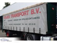 Sættevogn Pacton THD120, 790cm Long, BPW, Slidingroof, Truckcenter Apeldoorn glidende gardiner brugt