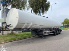 Semi remorque LAG tank 50300 Liter, 5 Comp, 2 Liquid Counters citerne occasion