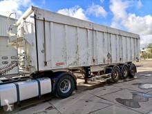 Fruehauf Voll Alu Mulde 55m³ Leergewicht 5880 Kg Luft semi-trailer used tipper