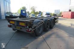 Semitrailer containertransport Renders EURO 800 / 2X Extendable / BPW + Drum / 1x Lift