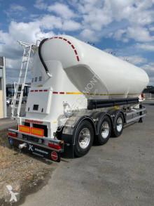 Kässbohrer tanker semi-trailer SSL 38 - Plate Pulvé