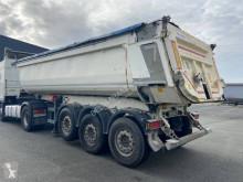 Semi remorque benne TP Schmitz Cargobull SKI 25m3 porte hydraulique