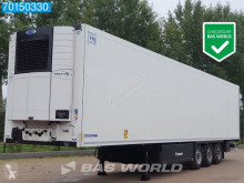 Semi remorque frigo mono température Krone Carrier Vector 1550 Doppelstock Palettenkasten Liftachse