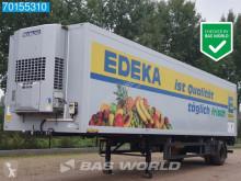 Semi remorque frigo mono température R G - B Lenkachse Ladebordwand City-Trailer (LBW) Kühlkoffer