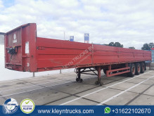 Pacton TXD 339 drop sides semi-trailer used tautliner