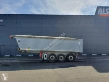 Benalu construction dump semi-trailer Sidérale II 3 essieux bâche électrique