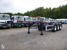 Semi remorque Dennison container trailer 20 ft porte containers occasion