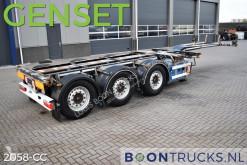Návěs D-TEC FLEXITRAILER LS + GENSET | 2x20-30-40-45ft HC * DISC BRAKES nosič kontejnerů použitý