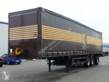 Yarı römork tenteli platform Ackermann I-SDX 135 EL* 3e Achse Gelenkt* BPW Eco* ABS*TÜV