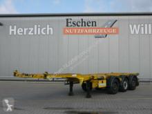 Semi remorque châssis D-TEC Durmus Özgül*45 Fuß Containerchassis*HU09/22*SAF
