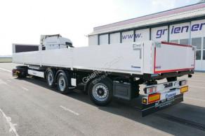 Krone flatbed semi-trailer SDP 27 / BAUSTOFF / RUNGENT. /TRIDEC LENKUNG BPW