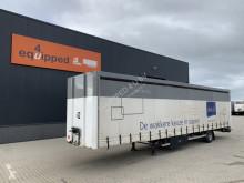 Semitrailer skjutbara ridåer (flexibla skjutbara sidoväggar) Pacton double floor (hydralic operated), BPW, NL-trailer
