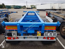 Semitrailer containertransport Asca CHASSIS 20 PIEDS