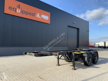 Semi remorque York BLAD / SPRING / BLATT / LAMES, 20FT, NL-chassis porte containers occasion