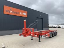 Návěs Van Hool 30FT Tipping-chassis, SAF+disc, NL-chassis, APK: 08/2022 nosič kontejnerů použitý