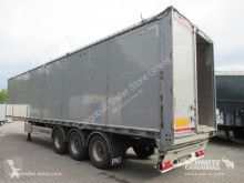 Semi remorque fond mouvant Kraker trailers Schubboden Standard Faltwandtür links