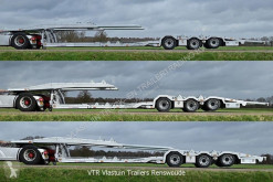 Semi remorque porte voitures Vlastuin VTR Trailer |Truck low loader | Hydro extension | Steer/lift axle | Alcoa rims |
