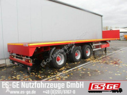 3-Achs-Sattelauflieger - teleskopierbar semi-trailer used flatbed
