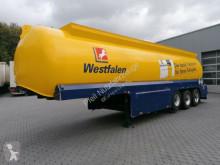 Schrader oil/fuel tanker semi-trailer Benzin/Diesel-5 Kammern- 42.700 l/Turbinenzähler