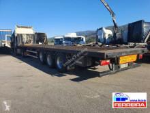 Coder flatbed semi-trailer 3 eixos