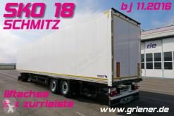 Schmitz Cargobull SKO SKO 18/ FP 25/ LIFTACHSE/2 x ZURRLEISTE NL 22to semi-trailer used box