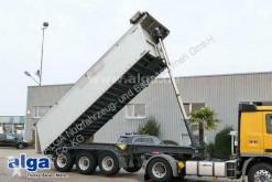 Meierling tipper semi-trailer MSK 24, Alu-Chassis, 25m³, Schiebe-Verdeck, Alu