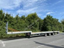 Möslein heavy equipment transport semi-trailer 3 Achs Tieflader für Fertigteile, Maschinen, Co