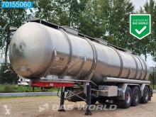 半挂车 油罐车 Burg BPO 12-28 Z 35.420 Ltr / 3 Comp / Lift+Lenkachse Animal Food