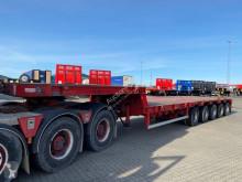 Goldhofer heavy equipment transport semi-trailer semi dieplader