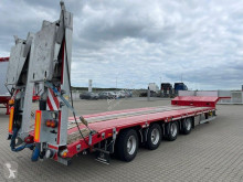 Hangler heavy equipment transport semi-trailer semi dieplader