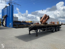 Flatbed semi-trailer platte oplegger