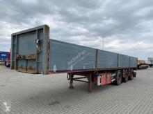 Renders flatbed semi-trailer open laadbak